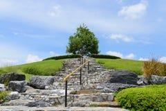 Ein Park bei königlicher Flora Park Der berühmte allgemeine Park im chiangmai Stockbild