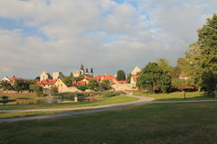 Ein Park in der alten Stadt Lizenzfreie Stockfotos