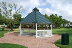 Ein Park Gazebo Stockbilder