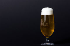 Ein perfektes kaltes Bier Lizenzfreies Stockfoto