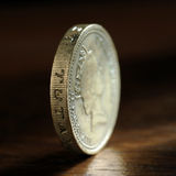 Ein Pfundsterling Stockbild