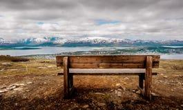 Ein Platz zu sitzen und zu denken und zu träumen Stockfotografie
