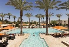 Ein Pool am Wigwam, Litchfield Park, Arizona Stockfotografie