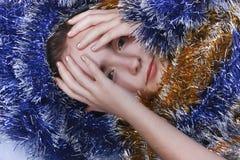 Ein Portrait des Mädchens. Lizenzfreies Stockfoto