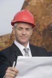 Ein Portrait eines Ingenieurs Lizenzfreie Stockfotografie