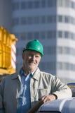 Ein Portrait eines Ingenieurs Stockfotografie