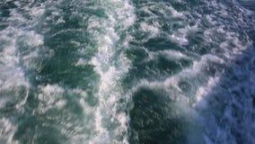 Ein POV schoss von einem Schnellboot in Australien stock video