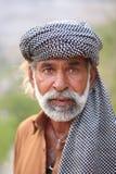 Ein Punjabimann mit Bart Lizenzfreie Stockfotografie