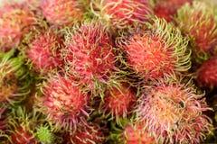 Ein Rambutan lizenzfreies stockfoto