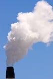 Ein rauchender Kamin Stockfoto