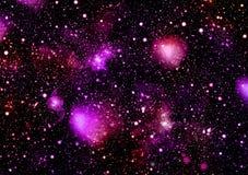 Ein Raum der Galaxie, Atmosphäre mit Sternen am dunklen Hintergrund lizenzfreie stockbilder