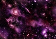 Ein Raum der Galaxie, Atmosphäre mit Sternen am dunklen Hintergrund lizenzfreie stockfotos