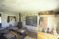 Ein Raum-Schulhaus lizenzfreie stockfotos