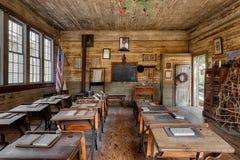 Ein-Raum Schulhaus Stockbild