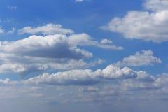 Ein recht blauer Himmel morgens Stockfoto