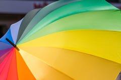 Ein Regenbogen für Toleranz Stockbild