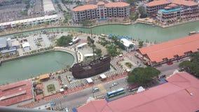 ein Replikschiff Lizenzfreies Stockfoto
