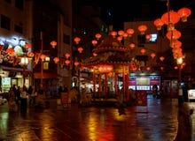 Ein roter Bann in Chinatown lizenzfreie stockfotografie