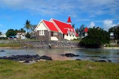 Ein rotes Dach Lizenzfreie Stockfotografie