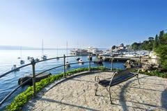 Ein Ruheplatz nahe dem Meer Lizenzfreies Stockfoto