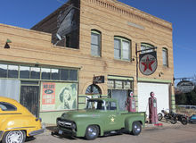 Ein 50s Ford Army Truck, Lowell, Arizona Lizenzfreies Stockfoto