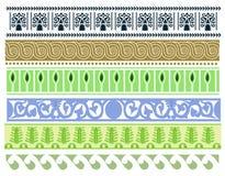 Ein Satz alte Hittitemusterdesigne Lizenzfreie Stockbilder