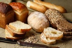 Ein Satz Brot Stockfotos