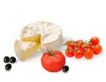Ein Satz gesundes Lebensmittel Auch im corel abgehobenen Betrag Noch Leben 1 Stockfoto
