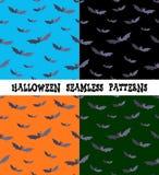 Ein Satz Hintergründe für den Feiertag Halloween, Schläger, eine editable Datei Lizenzfreie Stockfotos