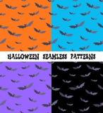 Ein Satz Hintergründe für den Feiertag Halloween, Schläger, eine editable Datei Lizenzfreie Stockfotografie