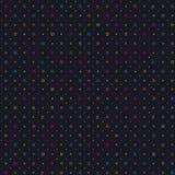 Ein schön gemachtes nahtloses einfaches geometrisches spacelike Muster mit richtig in Position gebrachten geometrischen Formen Ho Stockbild
