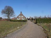 Ein schöner Bauernhof Lizenzfreies Stockbild