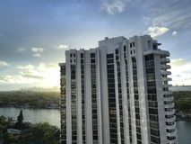 Ein schöner Blick in Miami, Florida, USA Lizenzfreie Stockfotos