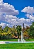 Ein schöner Frühlingstag im Park stockbild
