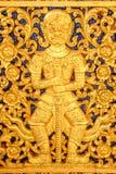Ein schöner goldener Riese Stockbilder