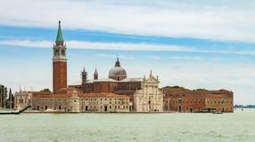 Ein schöner Panoramablick von einer venetianischen Insel stockfoto