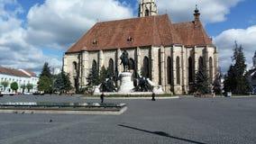 Ein schöner Platz in Klausenburg Reise in Rumänien Lizenzfreies Stockbild