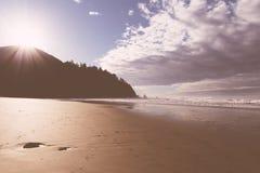 Ein schöner Schuss einer Küste lizenzfreie stockfotografie