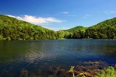 Ein schöner See Stockfotos