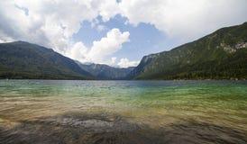 Ein schöner See Stockfotografie