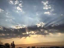 Ein schöner Sonnenaufgang Stockfoto