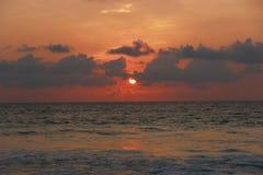 Ein schöner Sonnenuntergang Lizenzfreie Stockfotos