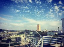 Ein schöner Tag in der Hauptstadt lizenzfreie stockfotografie