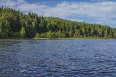 Ein schöner Tag in einem Boot in Meer fünf, Landschaft stockfotos