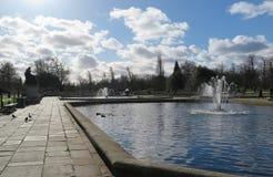 Ein schöner Tag in Hyde Park Lizenzfreies Stockfoto
