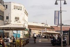 Ein schöner Tag im alten Jaffa Lizenzfreies Stockfoto