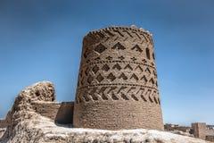 Ein schöner Turm in Meybod, der Iran Lizenzfreies Stockfoto