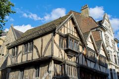 Ein schönes altes Haus stockfoto