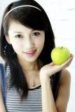 Ein schönes asiatisches Mädchen. stockfotografie