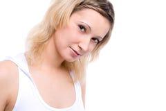 Ein schönes blondes Modell Lizenzfreies Stockbild